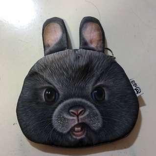 Rabbit coin pouch