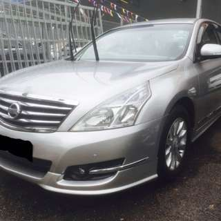 Nissan Teana 2.0 At 2011 Full Loan