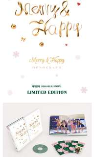 TWICE  Merry & Happy MONOGRAPH limited edition