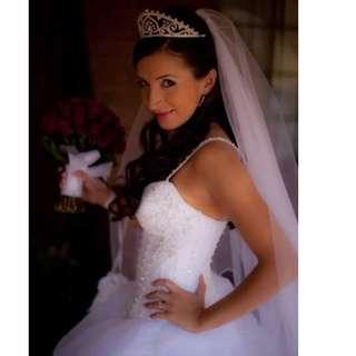 Designer wedding dress- Demetrios