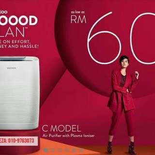 Cuckoo Air Purifier C Model RM60 SAHAJA