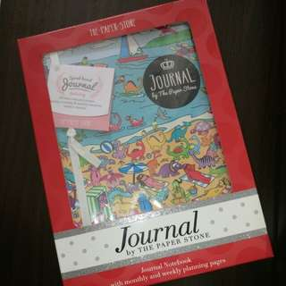 BNIP Journal Notebook with monthly & weekly planning pages by THE PAPER STONE