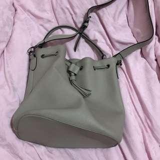 Drawstring Bag Grey