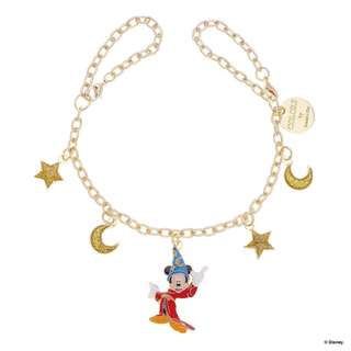 Japan Samantha Thavasa Colors By Jennifer Sky D23 Mickey Mouse Charm (Gold)