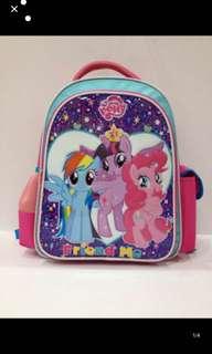 PO My Little Pony Primary School bag brand new ht40cm wt 29cm
