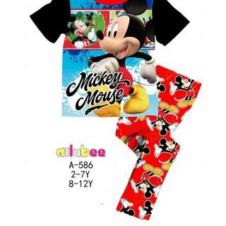 KIDS PYJAMAS, MICKEY MOUSE