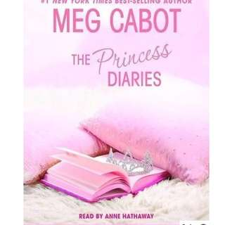 PRINCESS DIARIES VOL I TO III BY MEG CABOT