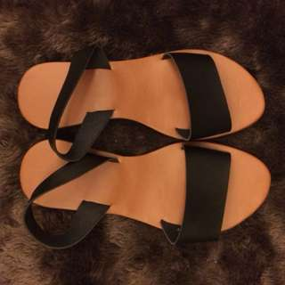Brand new sandals