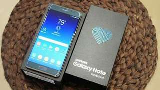 Kredit Samsung Galaxy Note FE Resmi