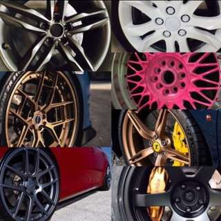 RIM SPRAY+ CALIPER SPRAY PROMO💥🚗👍