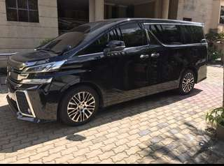 Vellfire & Alphard latest model