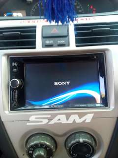 Sony Explōd player with usb. Blootooth & touchscreen dvd player