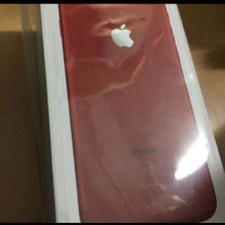全新 紅色特別版 iPhone 7 256gb