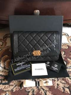 Chanel Boy Wallet On Chain Chanel Boy WOC