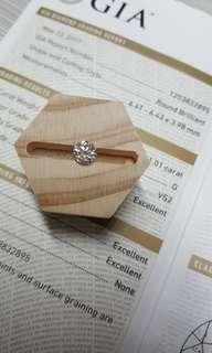 <Infin Diamond鑽石批發>GIA 1.01cts G VS2