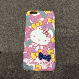 Iphone 6plus hello kitty casing only use for 1weeks