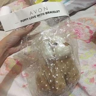 Avon Puppy Love with Bracelet