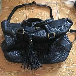 Shanghai Tang Leather Bag 上海灘手袋