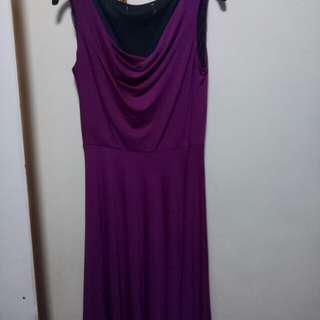 Purple Work or Chill out Dress