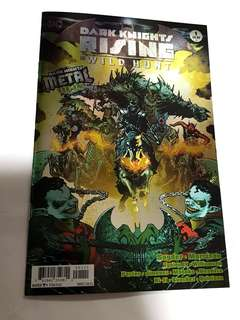 DC COMICS DARK KNIGHTS RISING WILD HUNT DARK NIGHTS METAL