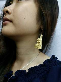 Anting Tasel ,App Kunci Gold