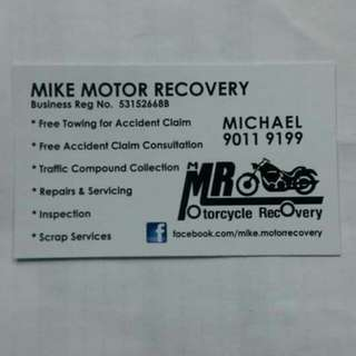 Bike towing start from $35