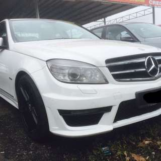 MERCEDES BENZ C250 1.8 CGi 2011 Full Loan