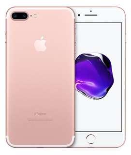 iPhone 7 Plus 128g 玫瑰金 二手90%新