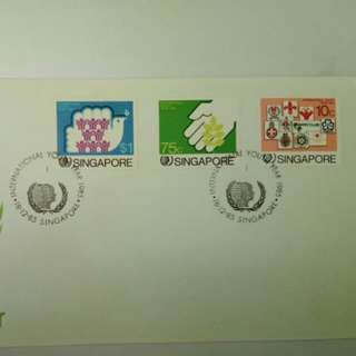 International Youth Year 1985 Singapore First Day Cover