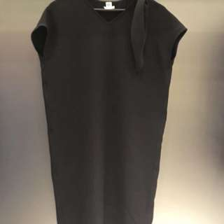 Hermes 2018 SS black blouse size 34