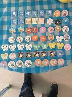 Hello Kitty 襟章 $10/5只