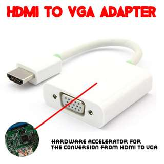 TVD019 HDMI to VGA Adapter