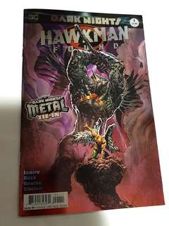 DC COMICS DARK NIGHTS METAL RETURN OF HAWKMAN