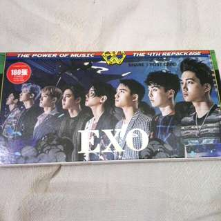EXO the war postcard set