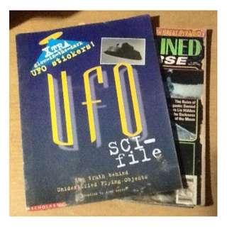 UFO SCI-FI & SCIENCE QUIZ BOOK SET