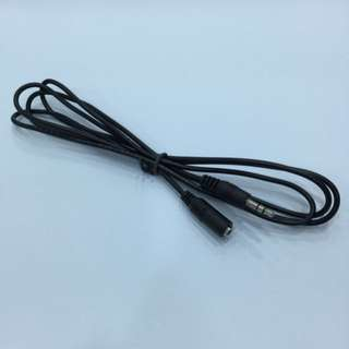 3.5mm Male to Female Extension Cable 1.5 Meter