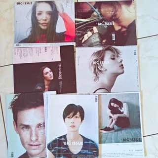 Big Issue大誌雜誌 七本120$