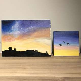 Canvas Painting - HOUSE