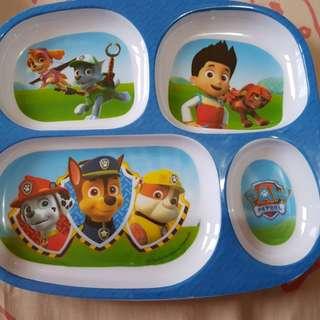 Paw Patrol plates