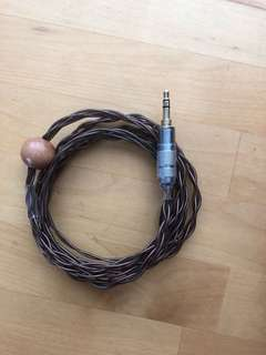 Replacement SHURE/WESTONE cable