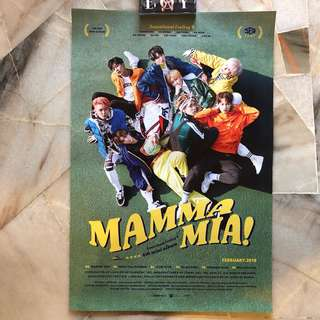 SF9 MAMAMIA ~ Official Posters
