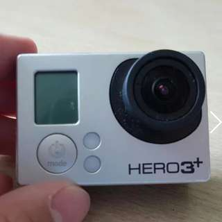 GoPro Hero 3+ Black edition with Wifi remote