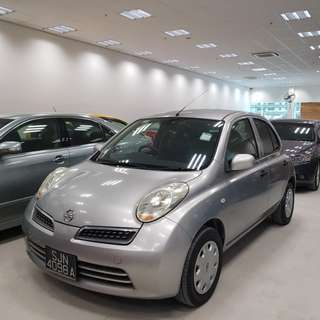(P-Plate) Nissan March for Rent