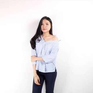 Larrisa Stripe Shoulder