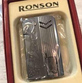 RONSON 電油打火機 全新