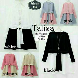 Talisa blouse NEW salmon