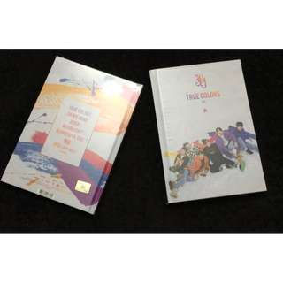 ON HAND UN SEALED ALBUM JBJ - TRUE COLORS