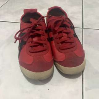Tiger Onitsuka Mexico 66 Red/Black