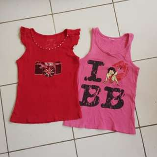 (2pcs for RM5)Girls top