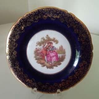 Vintage Limoges Castel Miniature Plate